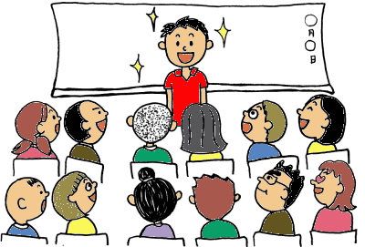 人前で話せるようになる小中学生の話し方教室