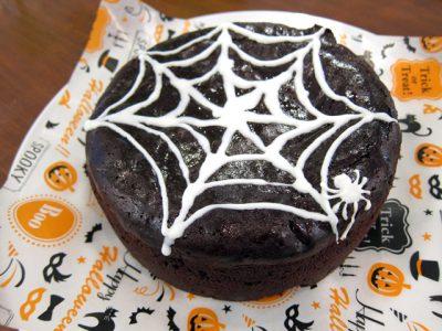 ハロウィンにぴったり蜘蛛の巣チョコレートケーキ