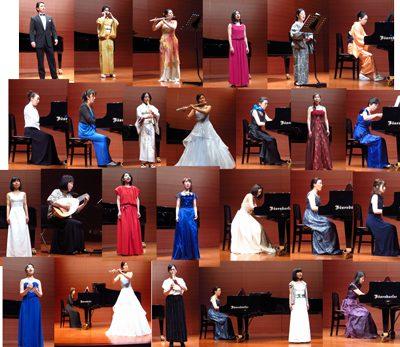 第3回新潟ガラコンサートの演奏者たち