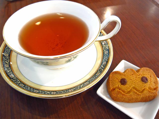 ハロウィンと紅茶