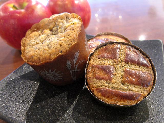 りんごとルフナ紅茶のマフィン