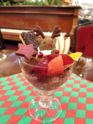 メイフェア(新潟市)のクリスマスパフェ