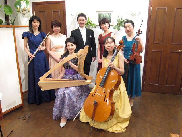 新潟市でクラシック音楽のサロン音楽会
