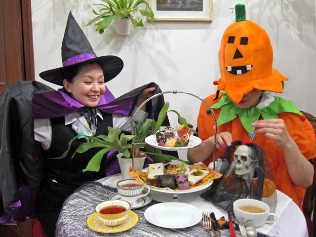 ハロウィンといえば仮装パーティー